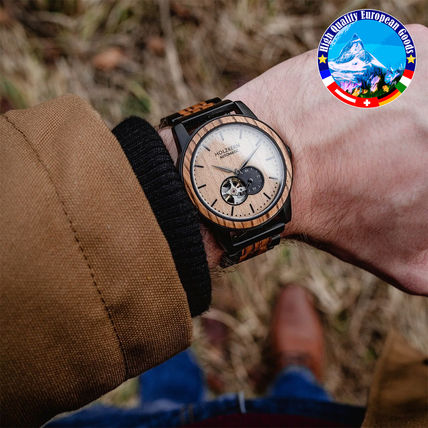 Blended Fabrics Handmade Analog Watches