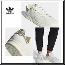 adidas STAN SMITH Plain Other Animal Patterns Leather Sneakers