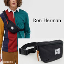 Ron Herman Stripes Canvas Street Style Hip Packs