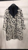 Max Mara Studio Wool Other Animal Patterns Coats