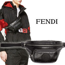 FENDI FOREVER Street Style Leather Messenger & Shoulder Bags