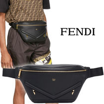 FENDI BAG BUGS Leather Messenger & Shoulder Bags