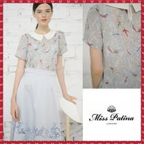 Miss Patina Casual Style Other Animal Patterns Medium Short Sleeves