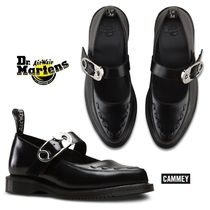 Dr Martens Rubber Sole Plain Leather Shoes
