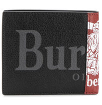 Burberry Leather Folding Wallets