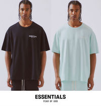 FEAR OF GOD ESSENTIALS Crew Neck Pullovers Unisex Street Style Collaboration Plain