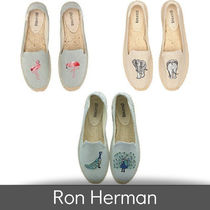 Ron Herman Casual Style Plain Other Animal Patterns Sandals Sandal