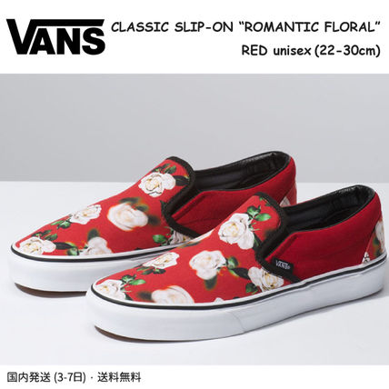 b04f4fc969ab ... VANS Low-Top Flower Patterns Rubber Sole Casual Style Unisex Suede ...