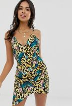 ASOS Leopard Patterns Tropical Patterns Beach Cover-Ups