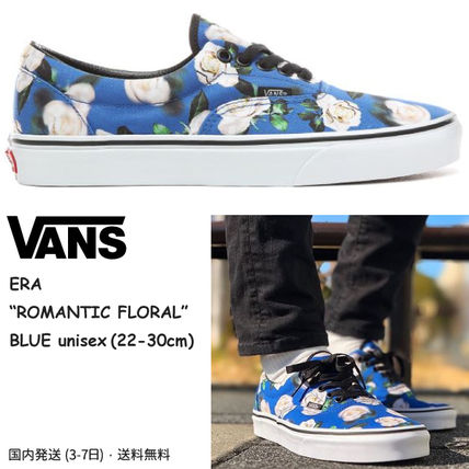 0b7bda355 ... VANS Sneakers Flower Patterns Unisex Suede Street Style Sneakers ...
