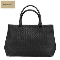 BOTTEGA VENETA Unisex A4 Plain Leather Totes