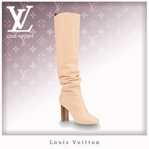 Louis Vuitton Leather Boots Boots
