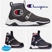 CHAMPION Suede Street Style Sneakers