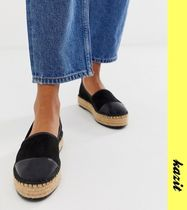 ASOS Casual Style Faux Fur Flats