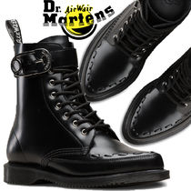 Dr Martens Heart Lace-up Casual Style Unisex Street Style Leather