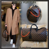 Louis Vuitton MONOGRAM Monogram Unisex Canvas Street Style A4 3WAY Bi-color Chain