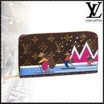 Louis Vuitton ZIPPY WALLET Monogram Canvas Other Animal Patterns Special Edition