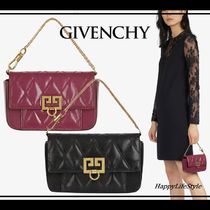 GIVENCHY 3WAY Chain Plain Elegant Style Shoulder Bags