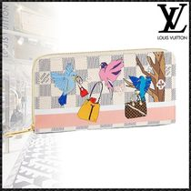 Louis Vuitton ZIPPY WALLET Canvas Other Animal Patterns Special Edition Long Wallets