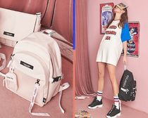 SHOOPEN Casual Style Collaboration Backpacks
