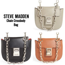 Steve Madden Casual Style Faux Fur 2WAY Shoulder Bags