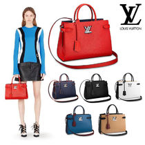 Louis Vuitton TWIST Casual Style 2WAY Leather Totes