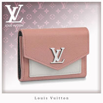 Louis Vuitton MY LOCKME  Studded Leather Folding Wallets