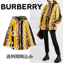 Burberry Fur Blended Fabrics Ponchos & Capes