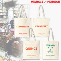 Melrose and Morgan Unisex Canvas Bag in Bag A4 Shoppers