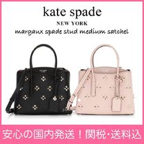 kate spade new york MARGAUX Flower Patterns 2WAY Leather Handbags