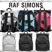 RAF SIMONS Unisex Street Style Collaboration Messenger & Shoulder Bags
