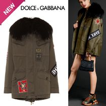 Dolce & Gabbana Heart Star Casual Style With Jewels Jackets