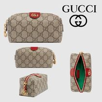 GUCCI Canvas Pouches & Cosmetic Bags