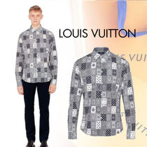 Louis Vuitton Long Sleeves Cotton Shirts