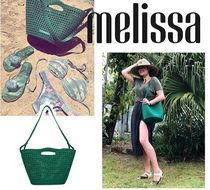 Melissa Casual Style Collaboration PVC Clothing Party Bags