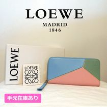 LOEWE PUZZLE Leather Long Wallets