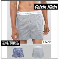 Calvin Klein Other Check Patterns Cotton Trunks & Boxers