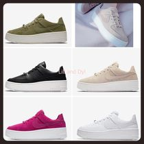 Nike AIR FORCE 1 Platform Casual Style Unisex Street Style Plain