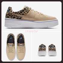 Nike AIR FORCE 1 Platform Casual Style Unisex Street Style