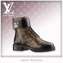 Louis Vuitton MONOGRAM Monogram Rubber Sole Ankle & Booties Boots