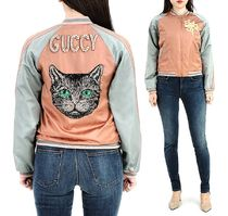 GUCCI Other Animal Patterns With Jewels Jackets