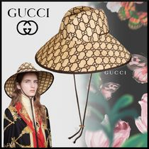 GUCCI Blended Fabrics Straw Hats