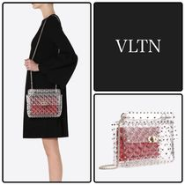 VALENTINO Crystal Clear Bags Shoulder Bags