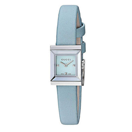 GUCCI Casual Style Square Quartz Watches Stainless Office Style