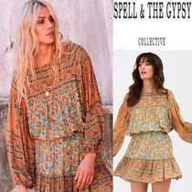 SPELL Flower Patterns Paisley Cotton Shirts & Blouses
