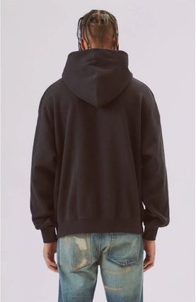 FEAR OF GOD Hoodies Street Style Long Sleeves Plain Oversized Hoodies 2