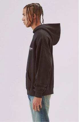 FEAR OF GOD Hoodies Monogram Street Style Long Sleeves Plain Oversized Hoodies 4