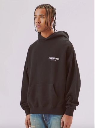 FEAR OF GOD Hoodies Street Style Long Sleeves Plain Oversized Hoodies 4