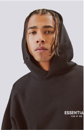 FEAR OF GOD Hoodies Monogram Street Style Long Sleeves Plain Oversized Hoodies 7
