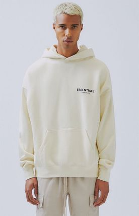FEAR OF GOD Hoodies Monogram Street Style Long Sleeves Plain Oversized Hoodies 8